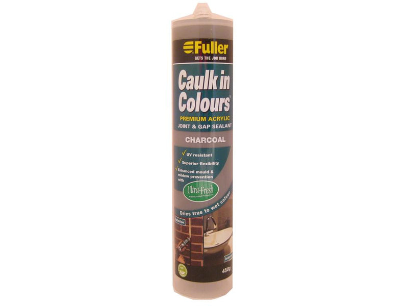 Fuller Charcoal Caulk in Colours Sealant 450g