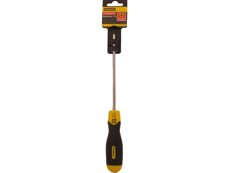 Stanley Cushion Grip Screwdriver 150mm Phillips #1