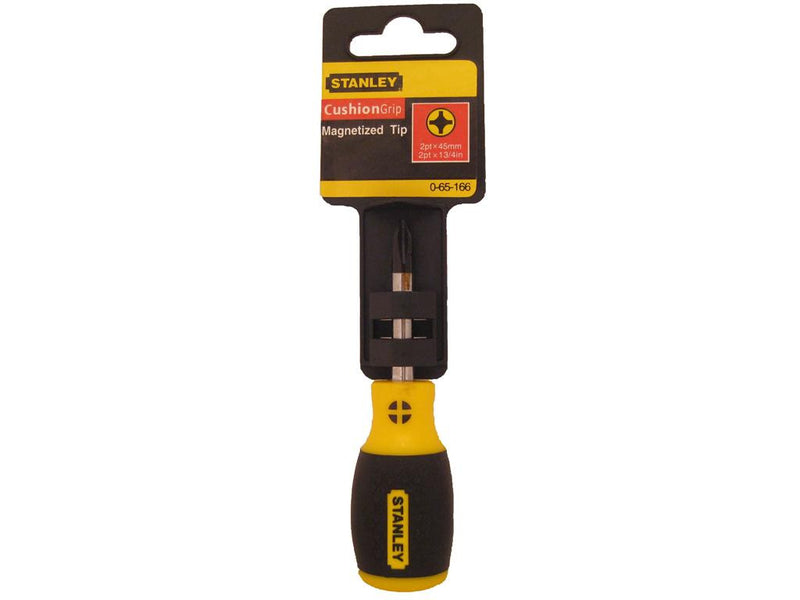 Stanley Cushion Grip Screwdriver 45mm Phillips #2