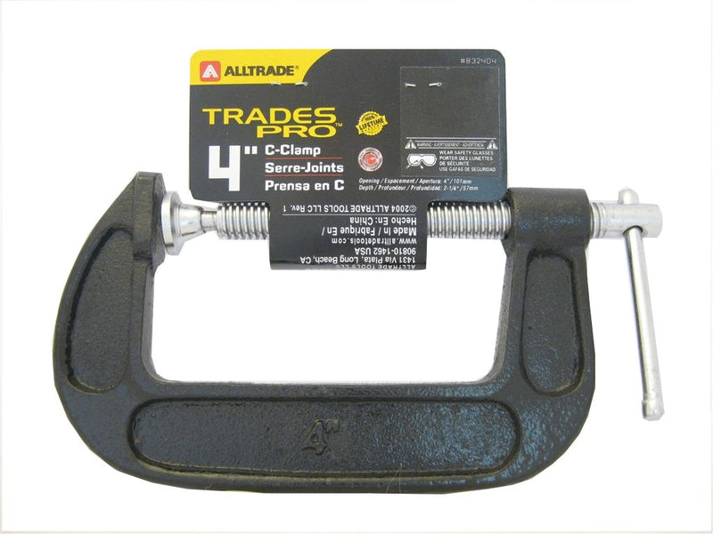 Alltrade G-Clamp 100mm (4 Inch)