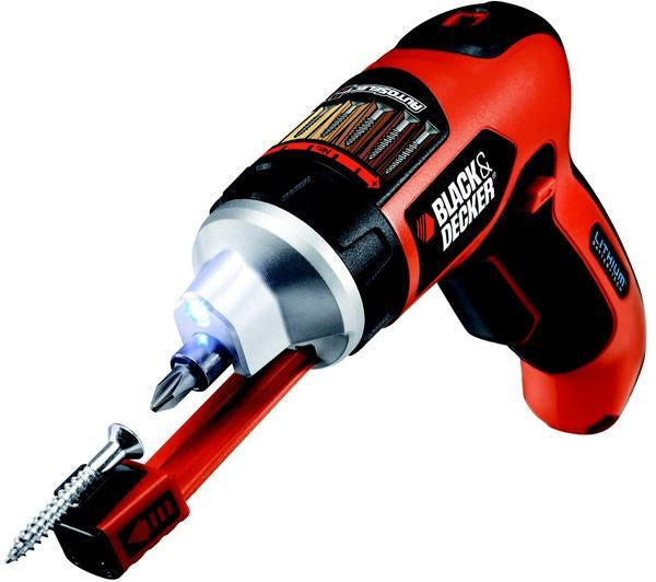 Black & Decker 3.6v Lithium-Ion Cordless Screwdriver: AS36LN-XE