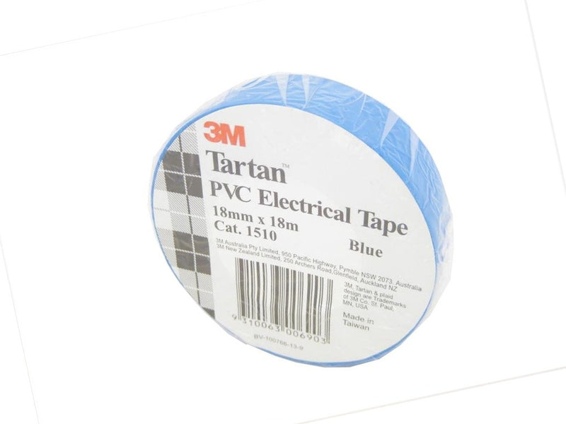 3M Blue Electrical Tape 18mm x 18m