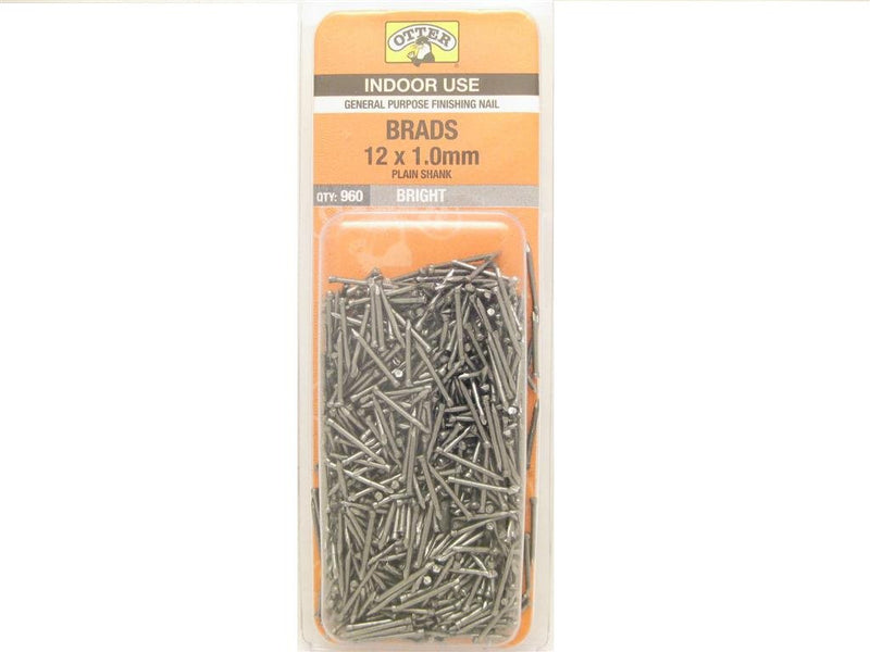 Nail B/H Bright 12mm x 1.0mm Pack of 960