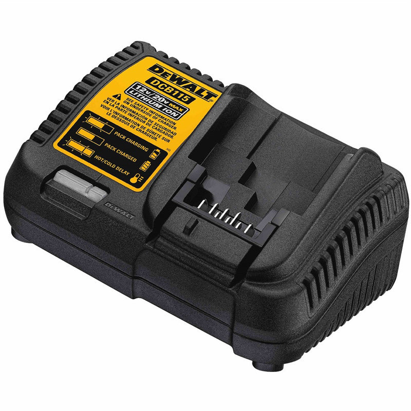 Genuine DeWALT XR Multi-Voltage Li-ion Battery Charger DCB115