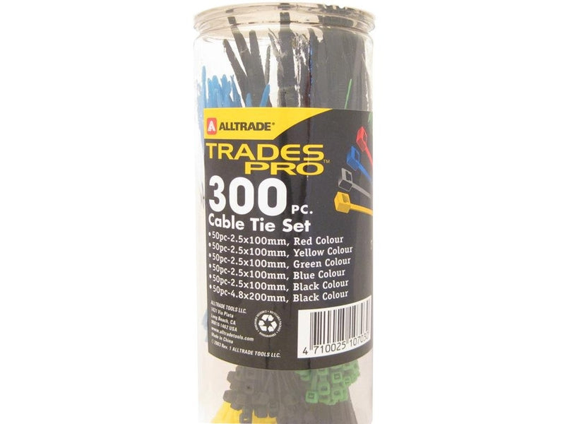 Cable Tie Assortment 300 Piece