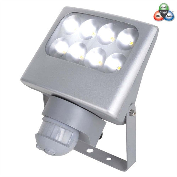Crompton Aluminium 24w LED Floodlight with Sensor