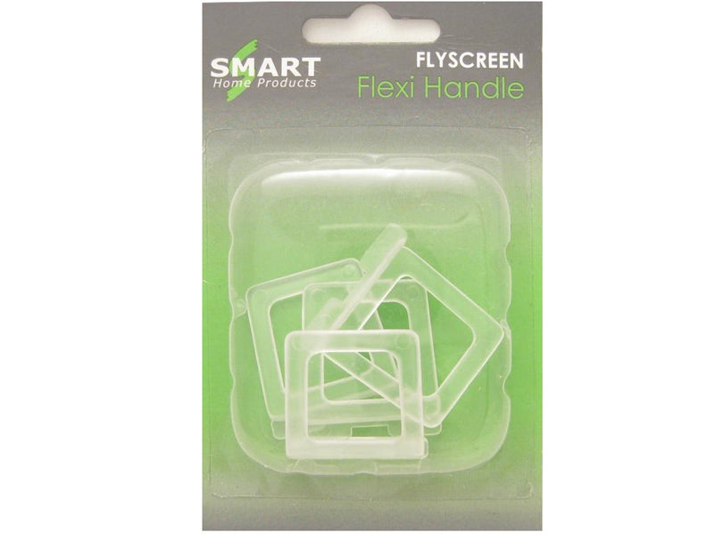Clear Flyscreen Flexi Handle Pack of 4