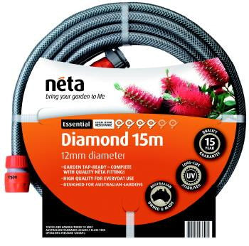 Neta 15m Diamond Hose Pipe with Fittings