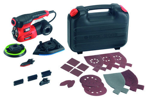 Black & Decker 220w 4 in 1 Multi Sander Kit