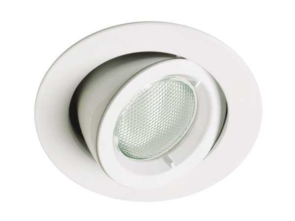 Crompton White Compact Fluorescent GU10 Downlight Kit