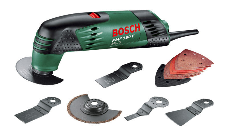 Bosch PMF 180 E Multi Tool All Rounder Deluxe Set