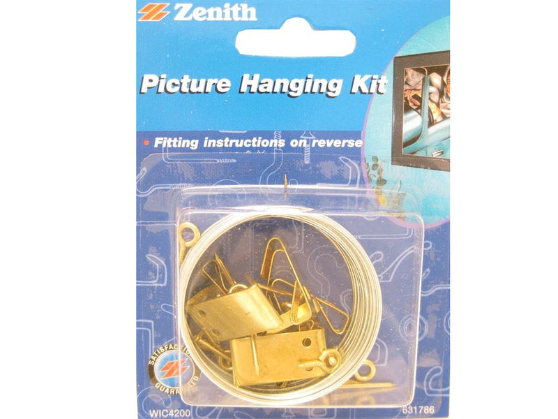 Zenith Picture Hanging Kit