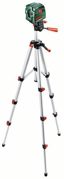 Bosch PCL 10 Cross Line Laser Level Set with Tripod