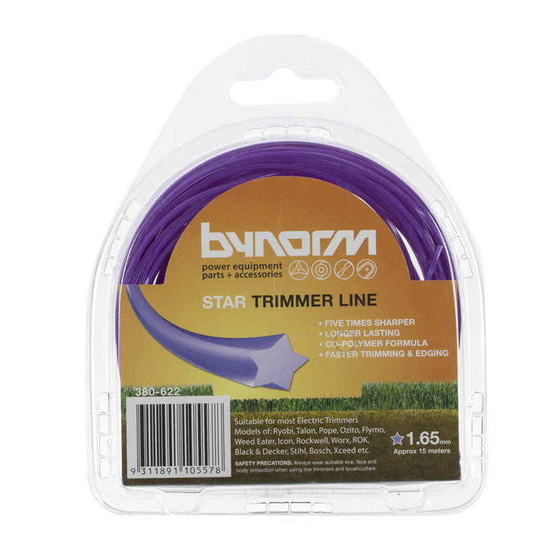 Bynorm Star Trimmer Line 1.65mm X 15m 380-622