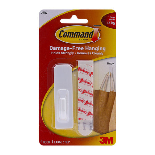 Command Damage-Free Hanging Utility Hook 1.8kg