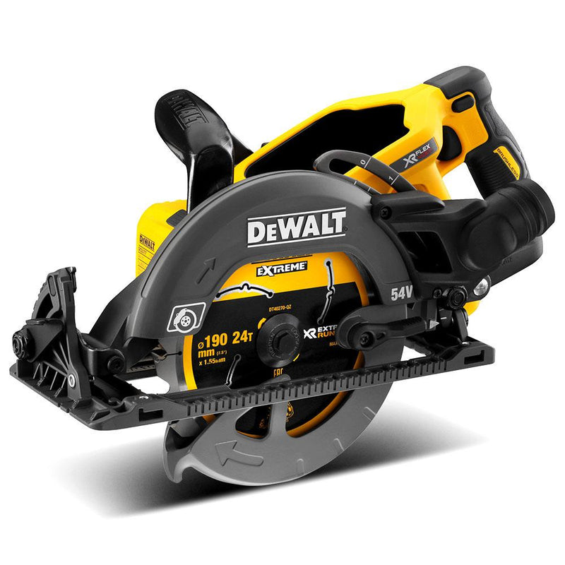 DeWalt 54v XR Li-Ion Flexvolt 190mm Circular Saw DCS577N (Skin Only)