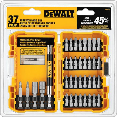 DeWALT 37 Piece Screwdriver Bit Set DW2176