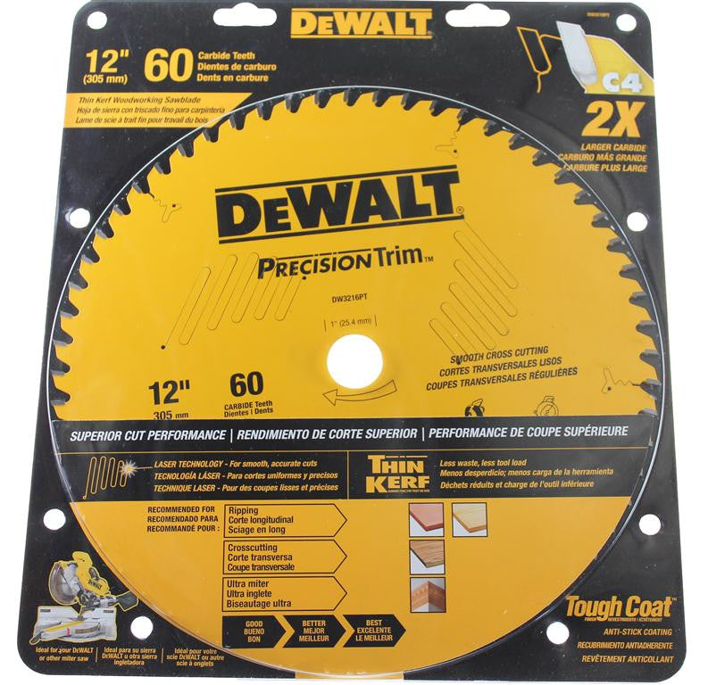 DeWALT Extreme Cutting Circular Saw Blade 305mm 60T DT1042-QZ
