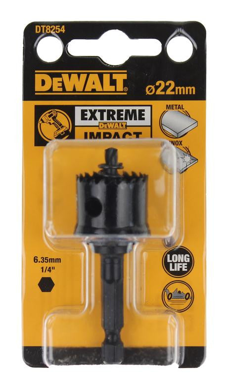 DeWALT Extreme Impact 22mm Hole Saw DT8254