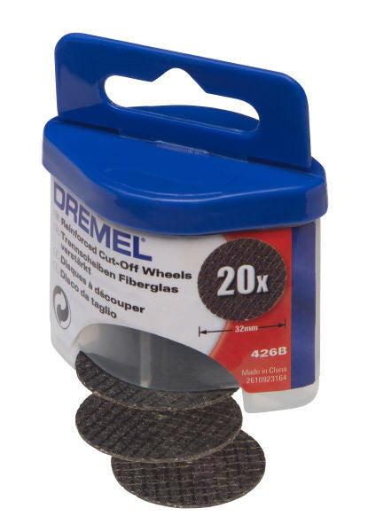 Pack of 100 Reinforced Cut Off Wheels for Dremel 1 1//4