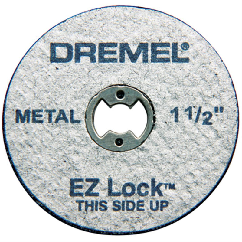 Dremel EZ456B 1-1/2 Inch EZ Lock Cut Off Wheels for Metal - 12 Piece Bulk Pack