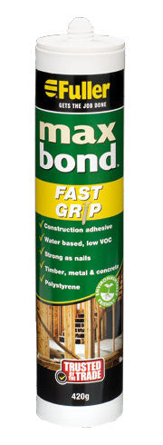Fuller Max Bond Fask Grip Construction Adhesive 420g