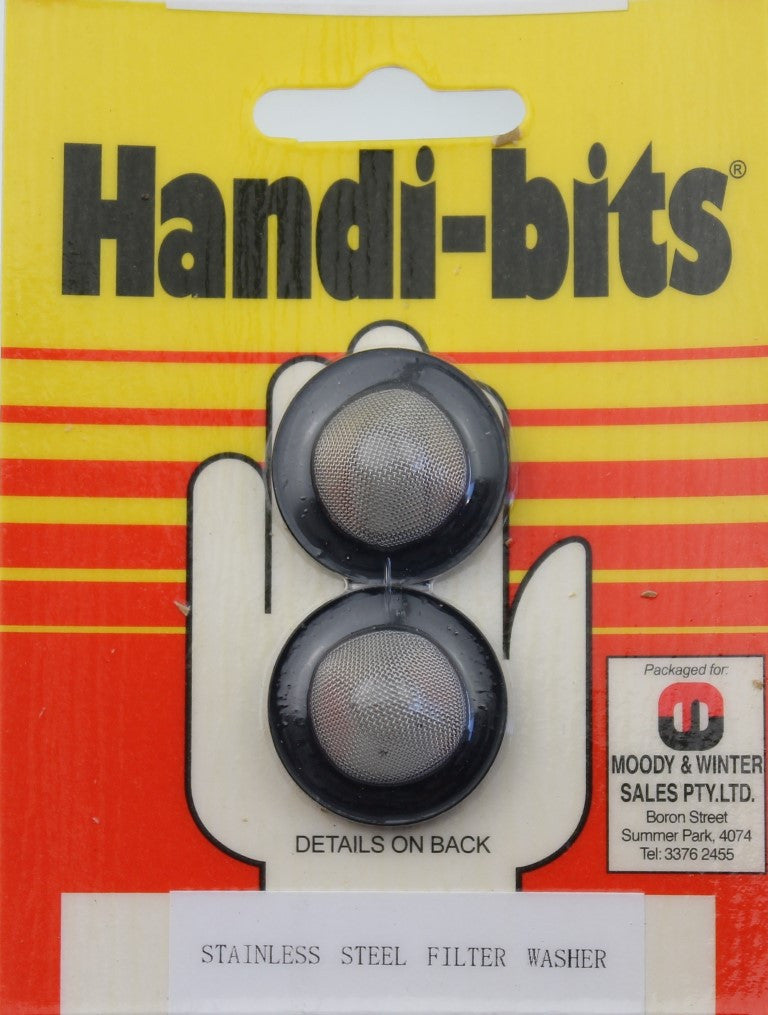 Handi-Bits Stainless Steel Filter Washer 20mm