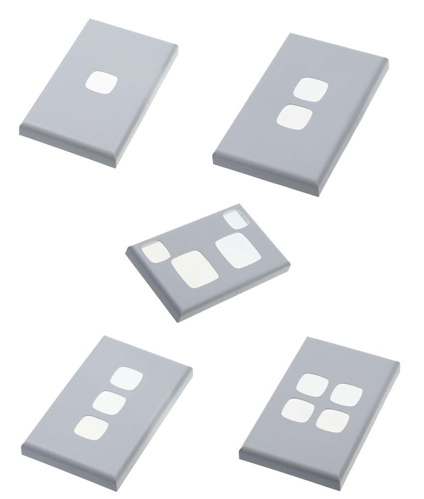HPM Excel XL Switch & Socket Cover Plates - Matt White