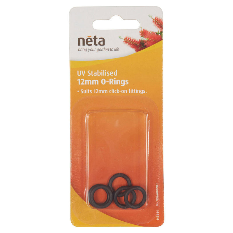 Neta UV Stabilised 12mm O-Rings 5pk