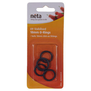 Neta UV Stabilised 18mm O-Rings 5pk