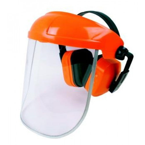 Protector Visor and Ear Muffs
