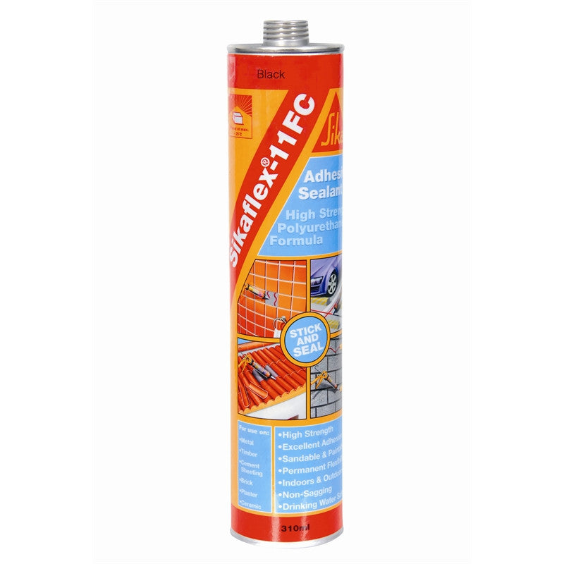 Sikaflex-11FC Adhesive Sealant (Black) 310ml