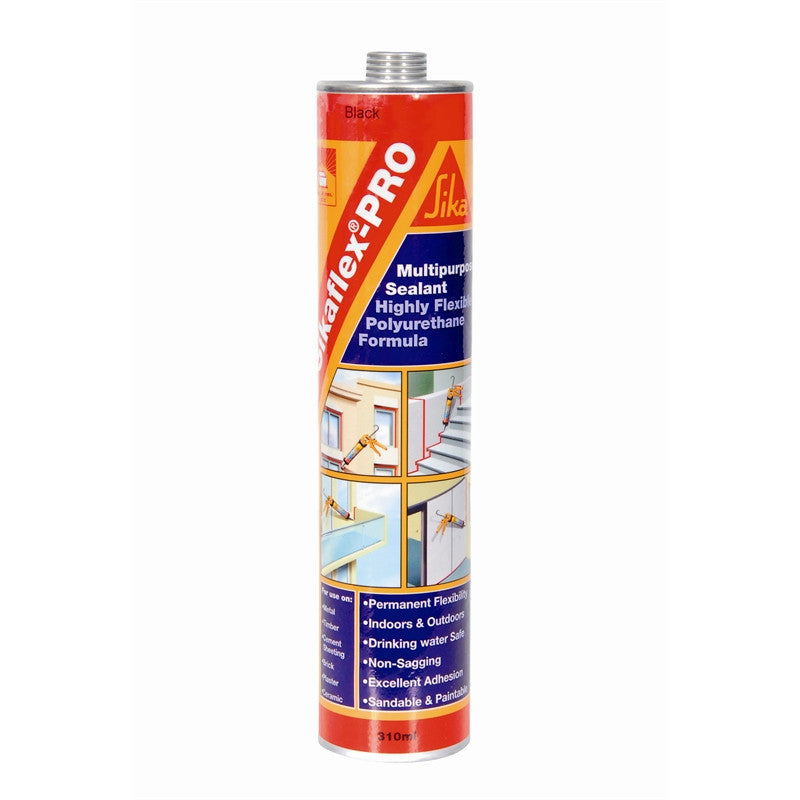 Sikaflex-PRO Multipurpose Sealant (Black) 310ml