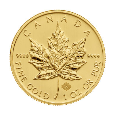 1 oz Maple Leaf .9999 Fine (Random Year)