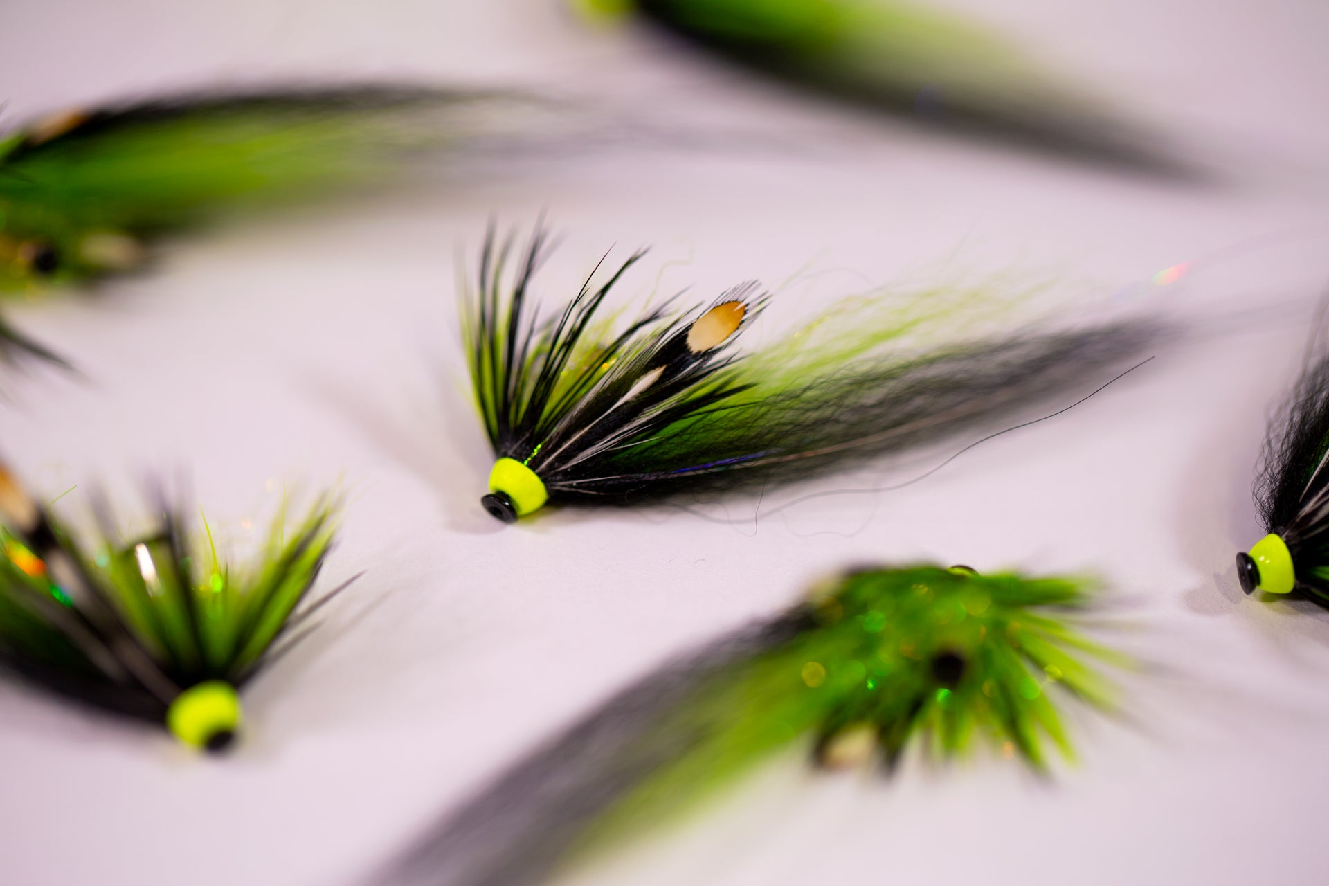 Tying a Black & Green tube fly