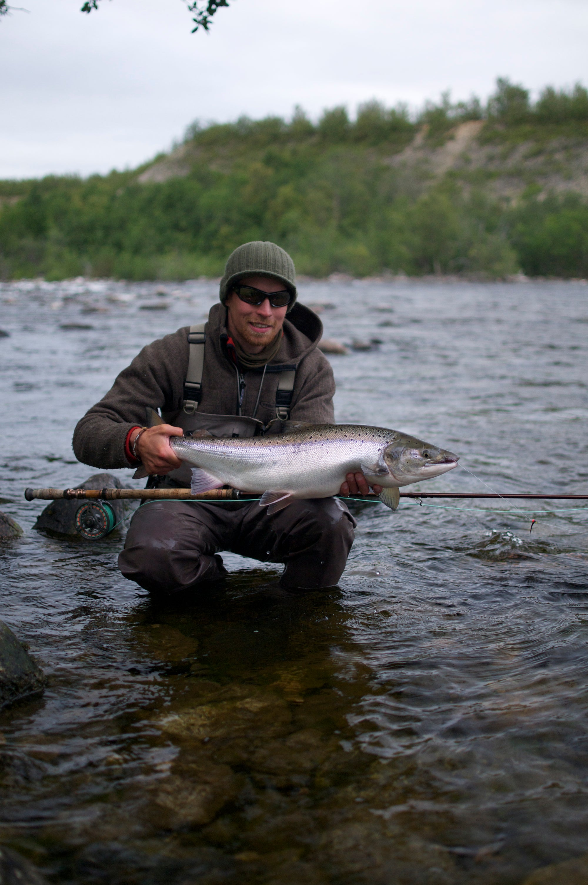 Late season salmon tactics