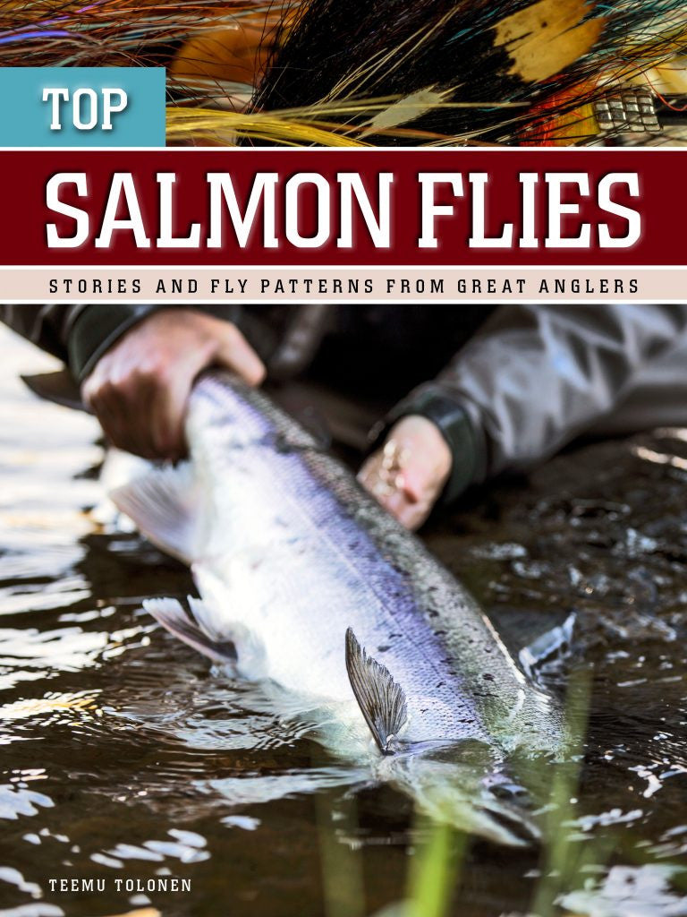 """Top Salmon Flies – stories and fly patterns from great anglers"" available now"