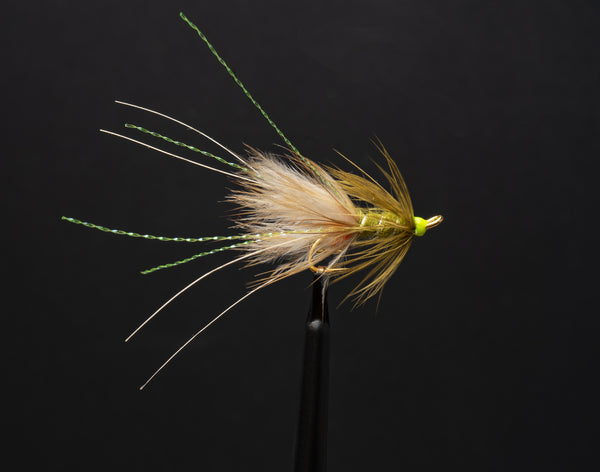 Olive Frances fly pattern