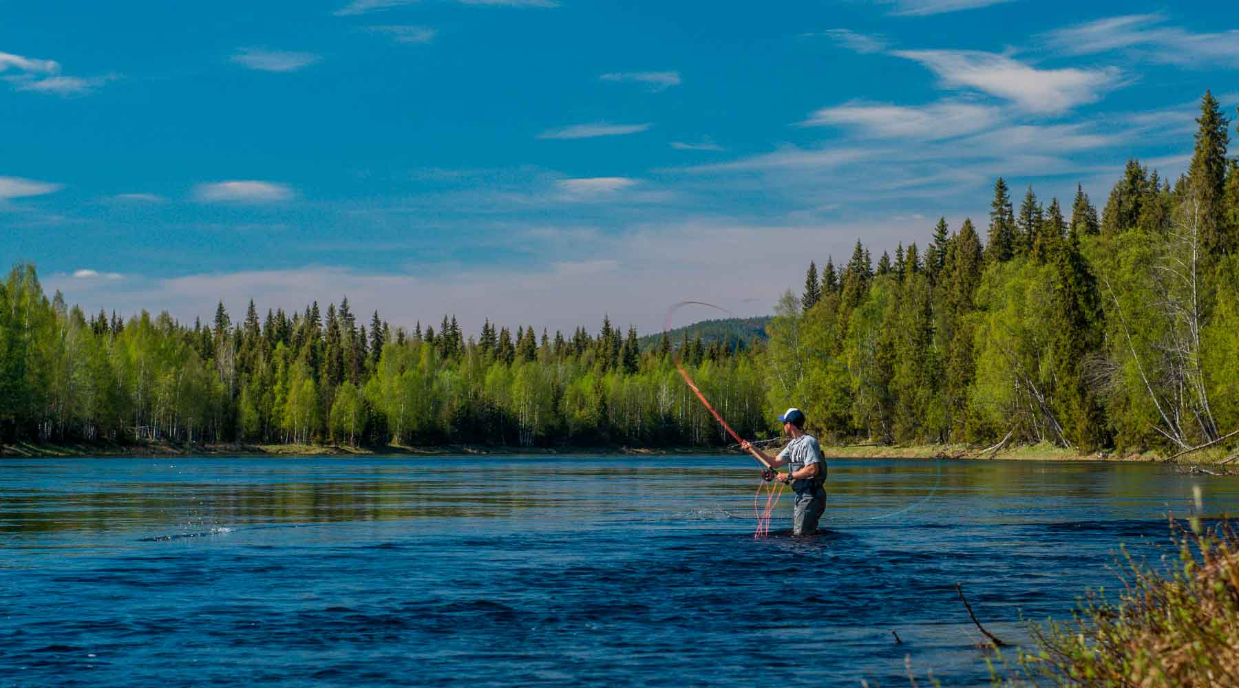 Salmon Flies for Kola Peninsula