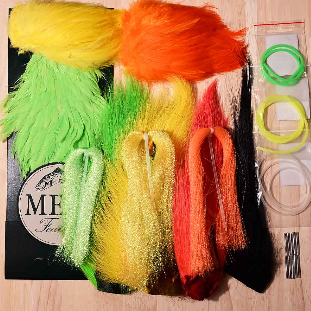 Collie Dog / Dee monkey Fly Tying Kit