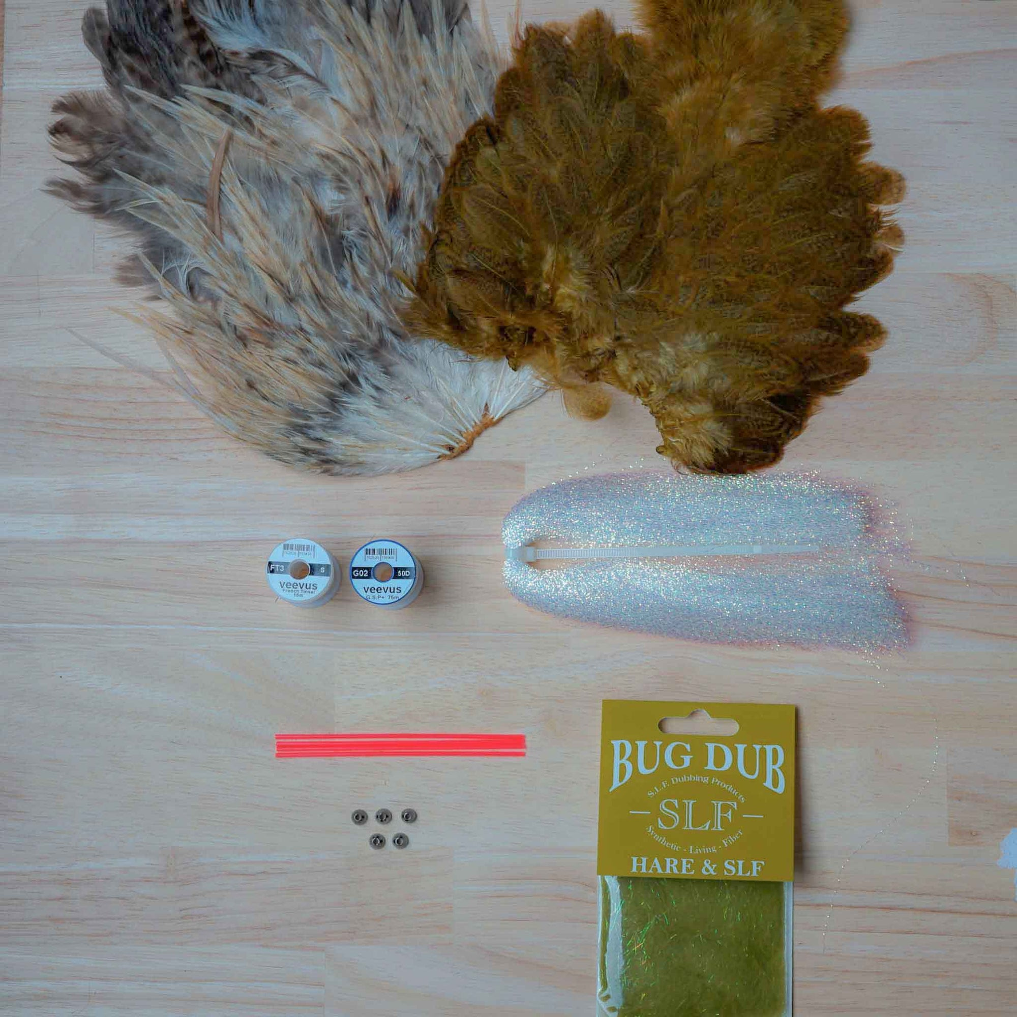 Olive Frances - tying kit