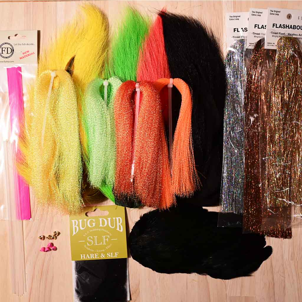 Snaelda Super Fly Tying Kit