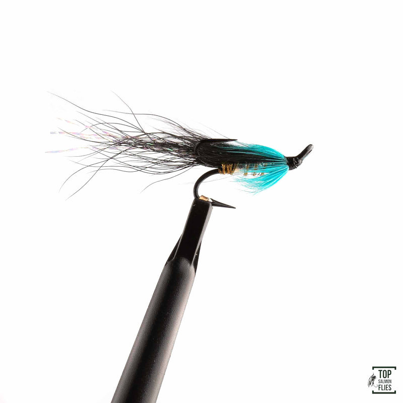 Black & Blue-Longtail treble silver
