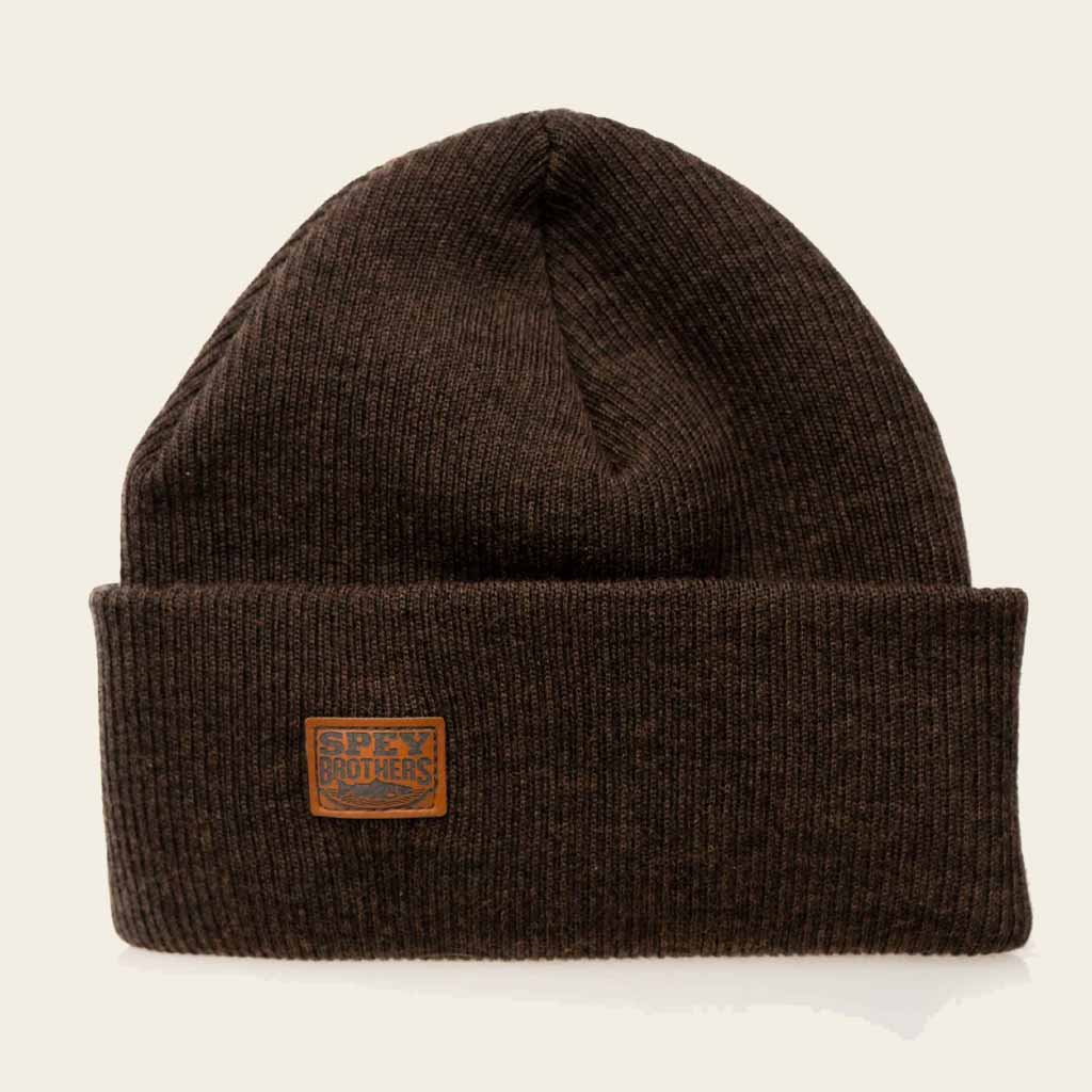 Merino Wool Hat Brown
