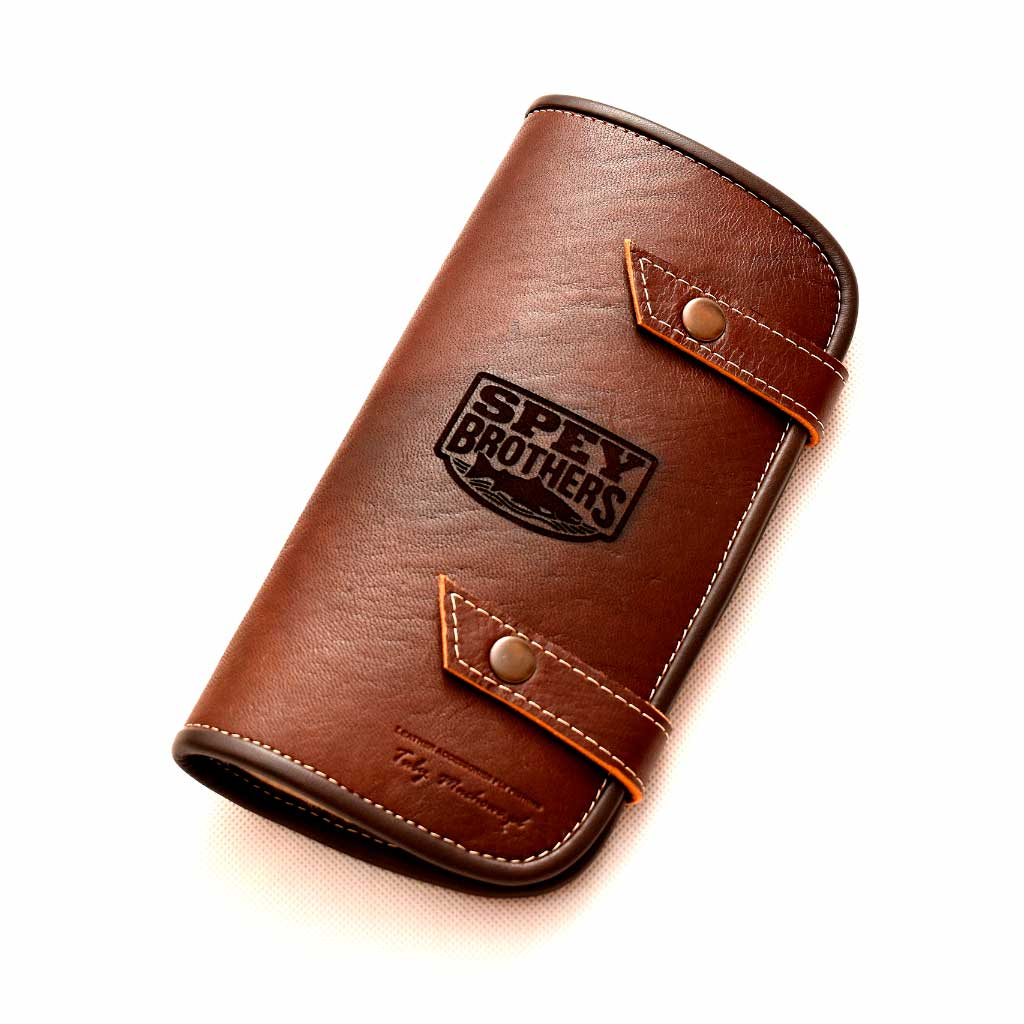 Custom Leather Fly Wallet Large