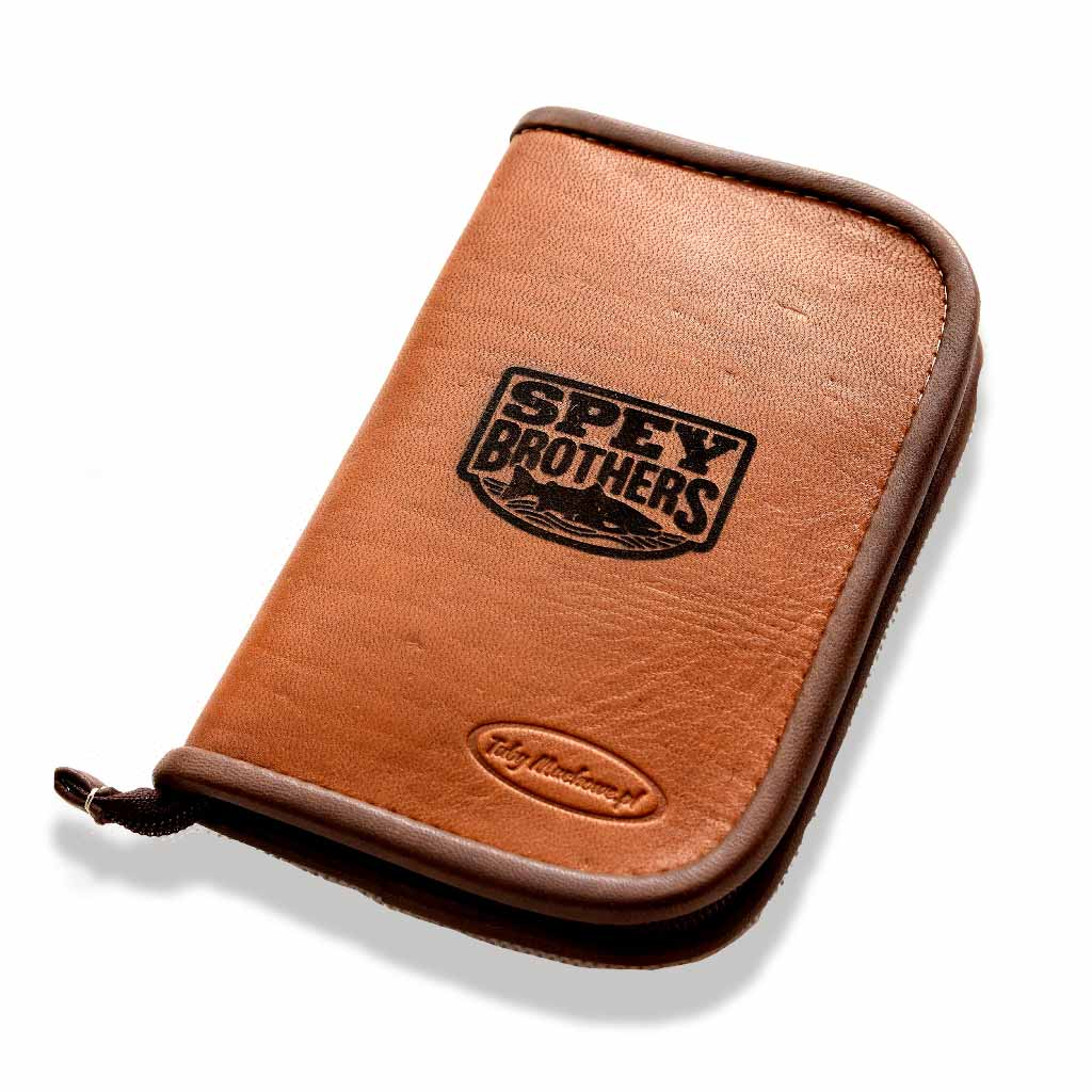Custom Leather Fly Wallet Small