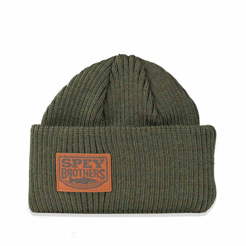 Merino Wool Hat Forest Green