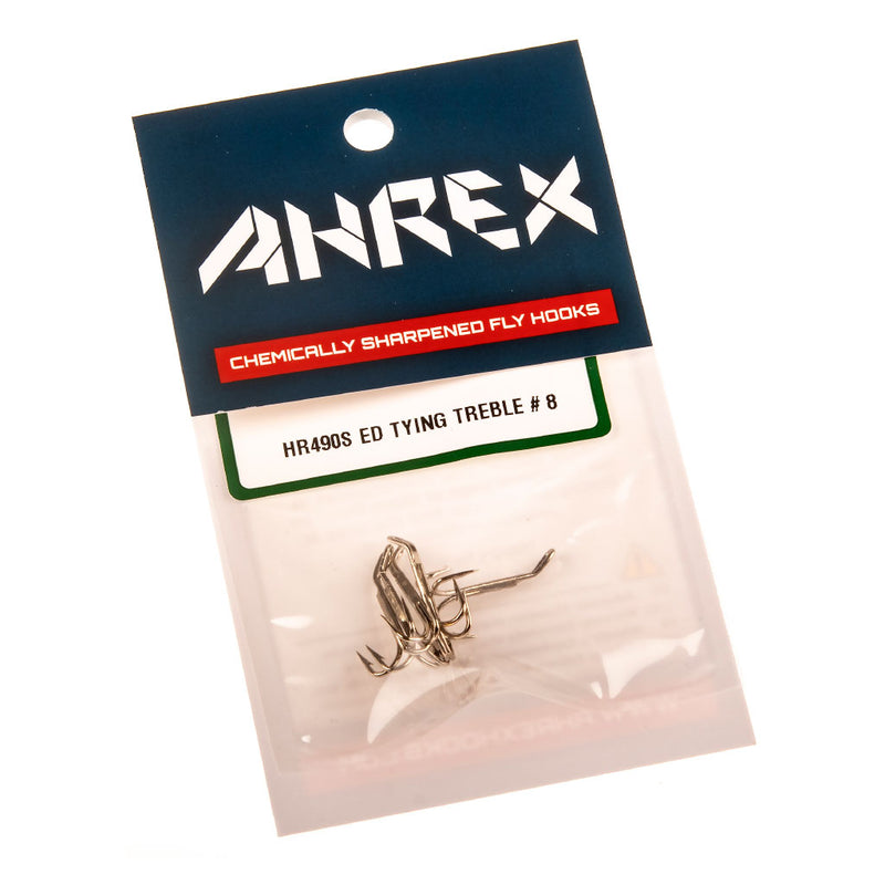 Ahrex HR490S Esmond Drury Tying Treble Silver