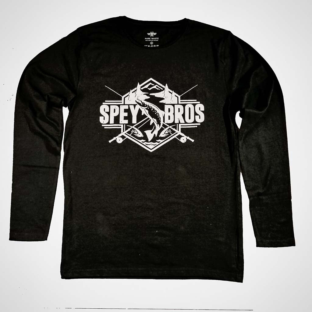 Spey Brothers Long Sleeve Tee Black