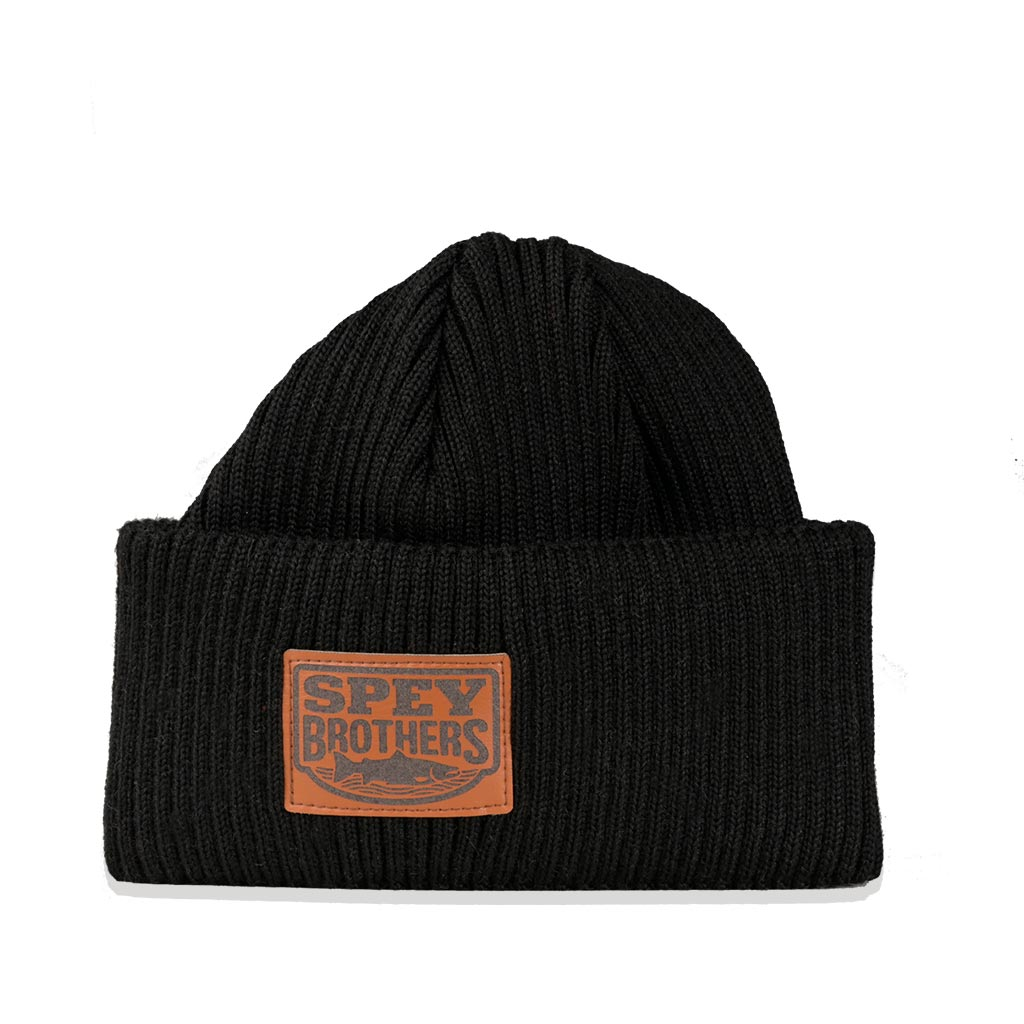 Merino Wool Hat Black